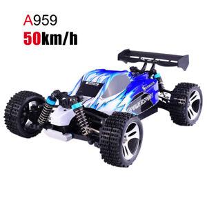 WLtoys A959-B/A959/A959-A/A979B 2.4G 1/18 4WD  Racing High Speed Off-Road Car