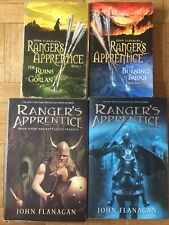 Rangers Apprentice Books 1-4   Ruins of Gorlan   Burning Bridge   Icebound Land