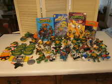 Vintage 1988-93 29 Figures + Accessories Teenage Mutant Ninja Turtles Lot