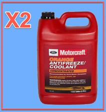 2 X Gallon Engine Coolant/Antifreeze Motorcraft VC3B Concentrated Orange