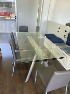 Clear Dining Furniture Sets With 5 Items In Set For Sale In Stock Ebay