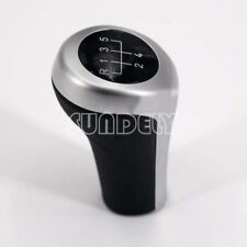 Car 5 Speed Manual Chrome Gear Shift Knob For BMW E81 E82 E87 E46 E90 E91 E92