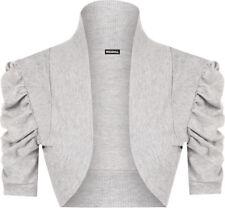 Magliette da donna grigie, taglia 36