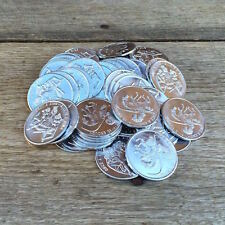 10 WHOLESALE Naughty ONCE A KING Token ONCE A KNIGHT Novelty Comical Coins 1960s
