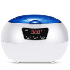 SKYMEN 220-240V 50Hz Stainless Ultrasonic Cleaner Digital Auto Washing LED 600ML