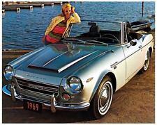 1969 Datsun 2000 Convertble, Cabrio, Refrigerator Magnet, 40 MIL