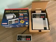 Nintendo NES Classic Edition Mini w/ xtra Official Controller. Unplayed!