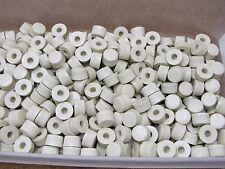 370 Small Ivory Colored Daka-Ware Cup Cake Knobs Push On Dakaware knob