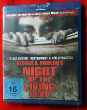 Night of the Living Dead - George A. Romero - Special Edition Blu-Ray - NEU