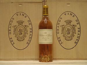 Château d'Yquem 2004 Sauternes 1er Cru Classé Supérieur noté: 100/100