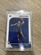 2019-20 NBA hoops ZION WILLIAMSON Rookie Card #258