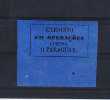 Brazil, 1865-1870, rare military Local post, occupation of Paraguay RARE, margin