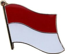 Indonesia Country Flag Bike Motorcycle Hat Cap lapel Pin