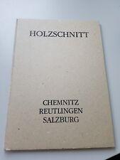 Holzschnitt Martina Geist, Peter Guth, Michael Mueller, Konrad Winter