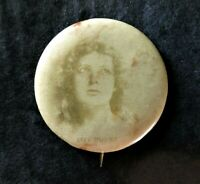 Vintage  Sweet Caporal Cigarette Actress Pinback Button