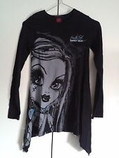 "Maglia Monster High ""Frankie stein"" 10/11 Tg XL 150 cm Originale Idea Regalo"