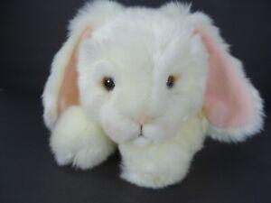 "Russ Berrie 12"" Easter Bunny Rabbit Floppy Ears Hippetty Make Someone Happy"