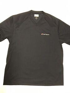 Audi Sport Men's Medium V-Neck Polyester Shirt Preowned