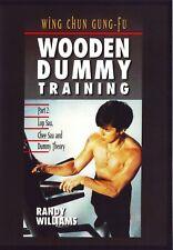 Wing Chun Gung Fu Wooden Dummy Training Part #2 Lop Sau, Chee Sau Dvd Williams