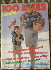 100 IDÉES ✤ Magazine N°93 de 1981 ✤ Tricots / Ouvrages / Déco / Brico / Cuisine