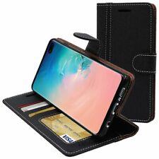 ebeststar Coque Samsung S10 PLUS Galaxy Etui Portefeuille Housse PU Cuir Noir