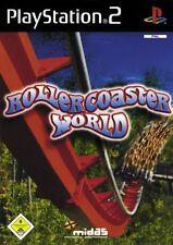 Rollercoaster World (Sony PlayStation 2, 2005, DVD-Box) neuwertig