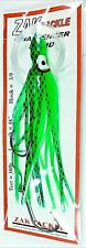 GibbsDelta Zak Tackle Green Squid on 48-inch 30lb Test Fishing Line & 3/0 Hooks