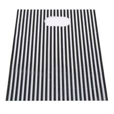 100pcs Striped Plastic Shopping Bags  Boutique Clothes Gift Packaging Pouch W