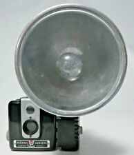 Vtg Kodak BROWNIE HAWKEYE Camera Flash Model with Kodalite Flasholder Attachment
