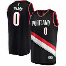 NBA Men's Jersey; PORTLAND TRAILBLAZERS - DAMIAN LILLARD (Select Size: S-XXL)