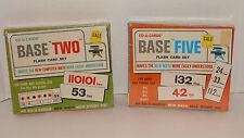 Ed-U-Cards Base Two Flash Card Set & Base Five Flash Card Set 1967 NEW