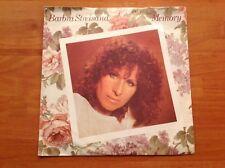 """BARBRA STREISAND 'Memory' 1981 UK 7""""/45 rpm vinyl single"""