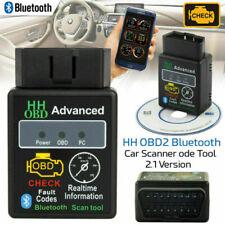 Bluetooth Car Scanner ELM327 Android Auto Torque Diagnostic Scan Tool V2.1 OBD2