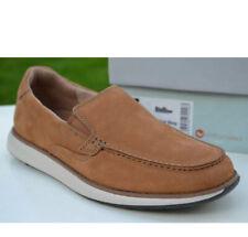 """Clarks Men's Unstructured Shoes """"Un Pilot Step"""" Tan  Nubuck UK 7 G"""