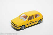 WIKING VW VOLKSWAGEN GOLF MKIII MK3 DBP POST YELLOW NEAR MINT CONDITION
