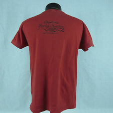 Harley Davidson Small Red T-Shirt Daytona Beach Womens