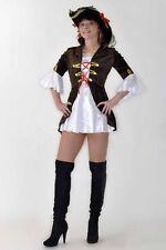 Piratin Seeräuber Karneval Fasching Pirat Damen Kostüm Fastnacht L/X  FK12