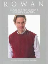 Rowan ::Classic 4 Ply Designs for Men & Women:: RYC Book #34 New 45% OFF!