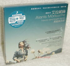 Alanis Morissette Havoc and Bright Lights Taiwan Ltd CD +2 postcards (Digipak)