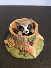 Woodland Surprises Raccoon Jacqueline B. Smith Hand Painted Figure 1983