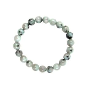 Natural Moonstone Gemstone Bead Chakra Bracelet Energy Heal Reiki Stone Jewelry