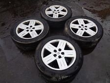 """RENAULT ESPACE ALLOYS WITH TYRES 17"""" 225-55-17 FITS FROM 1998 - 2015 5X108 PCD"""