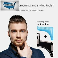 2017 Best Accessory BEARD SHAPER TRIMMER TOOL FOR MEN and Easy Shaped Styles