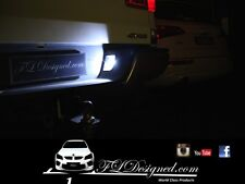Mazda bt50 Bright White L.e.d numberplate bulbs 2012- 2017 by FLDesigned