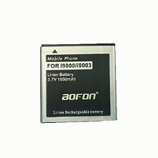 Bateria compatible 3.7V 1650mAh para Samsung Galaxy S i9000 i9003 marca Bofon