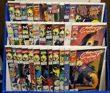 HUGE LOT OF 38 GHOST RIDER COMICS #1-32 + #93 + EXTRAS (MARVEL 1990) DANNY KETCH