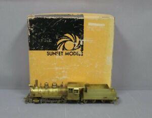 Sunset Models On3 Brass Colorado & Southern 2-8-0 Steam Locomotive/Box