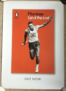 Morrissey promo poster List of Lost Official Poster Unused Genuine promotional