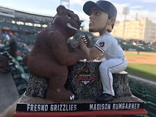 Madison Bumgarner bobble Head ArmWrestling Grizzly Bear Bobblehead Giants Fresno