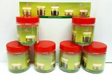 6 x 50ml Small Container Plastic Storage Pots Jars Food Safe Odourless Leakproof